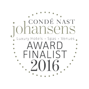 Finalisti ai Condé Nast Johansens Awards for Excellence 2016
